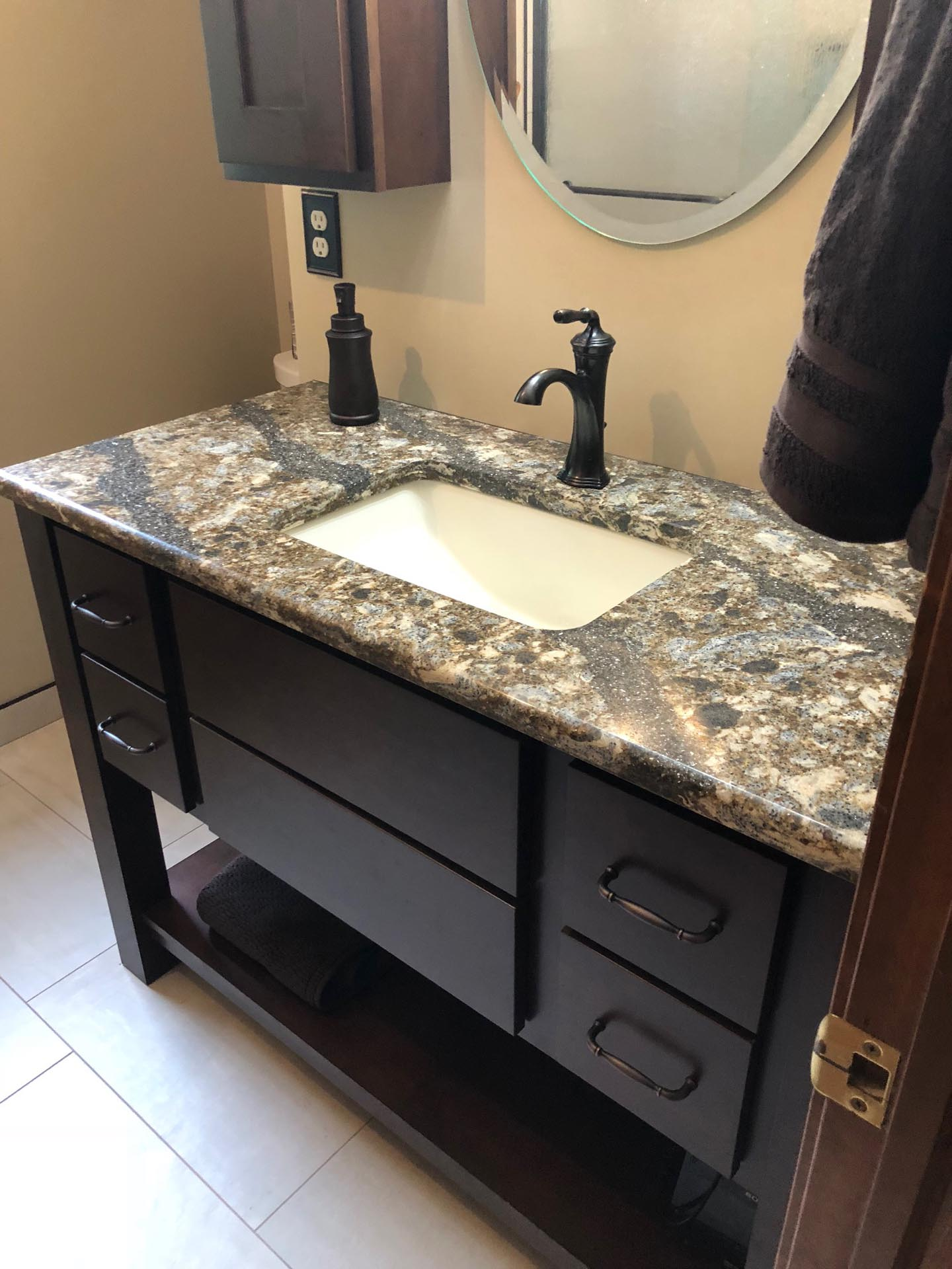Bathroom Sink and Faucet Remodel
