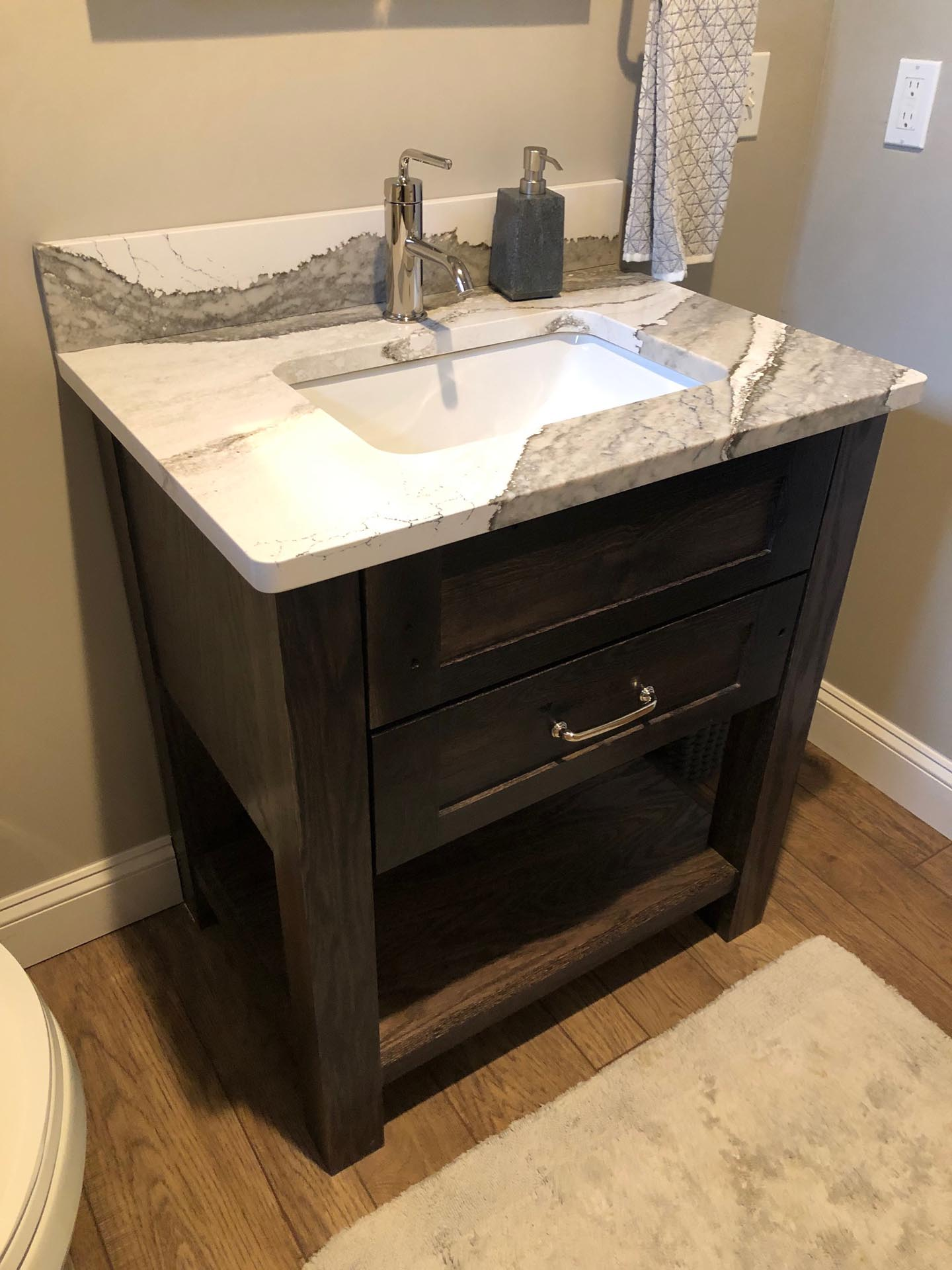 Bathroom Faucet and Sink Installation