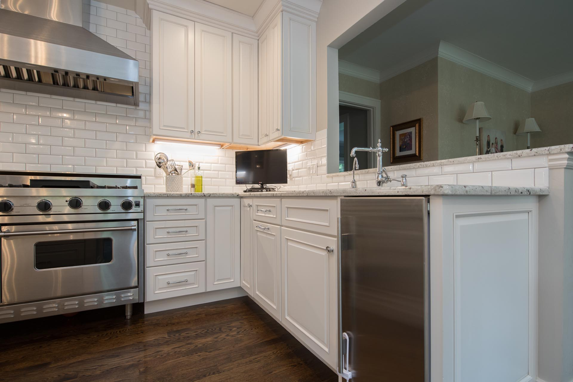 Faucet and Sink | Kitchen Renovation | Saginaw, MI
