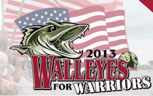 Walleyes for Warriors 2013