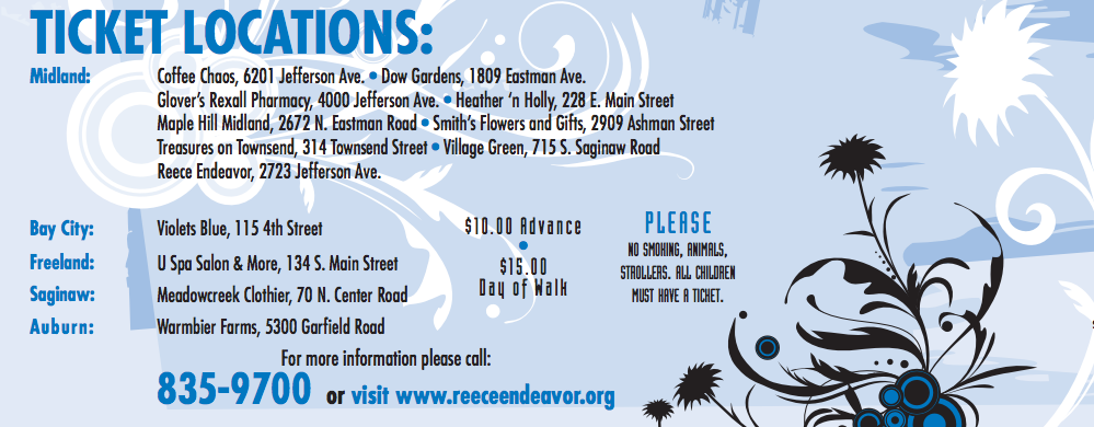 The 13th Annual Reece Endeavor GardenWalk is a Must-See!